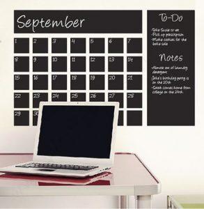 image of an empty calendar